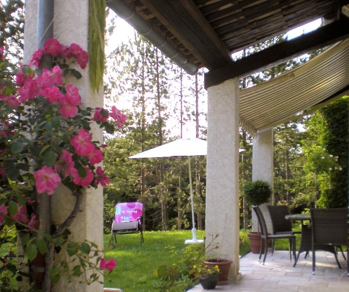 Terrasse ombragee - Nature jardin