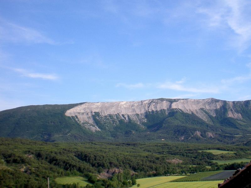 Falaise de la Montagne de Chabre